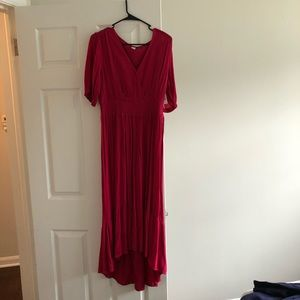 Old navy maxi high low dress!